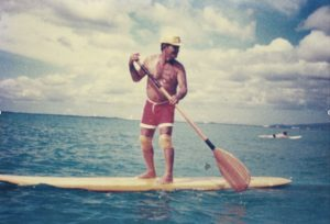 history of paddle boarding