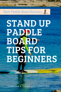 paddle board tips for beginners