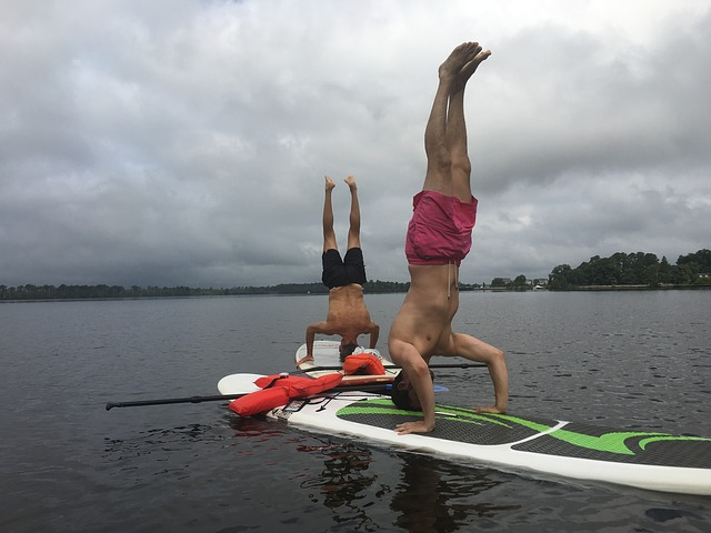 Paddle Board Yoga Poses