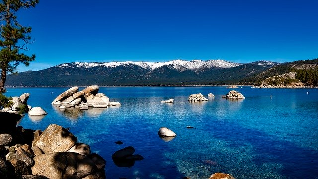 Lake Tahoe in the Winter time