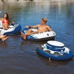 tubing with an inflatable cooler